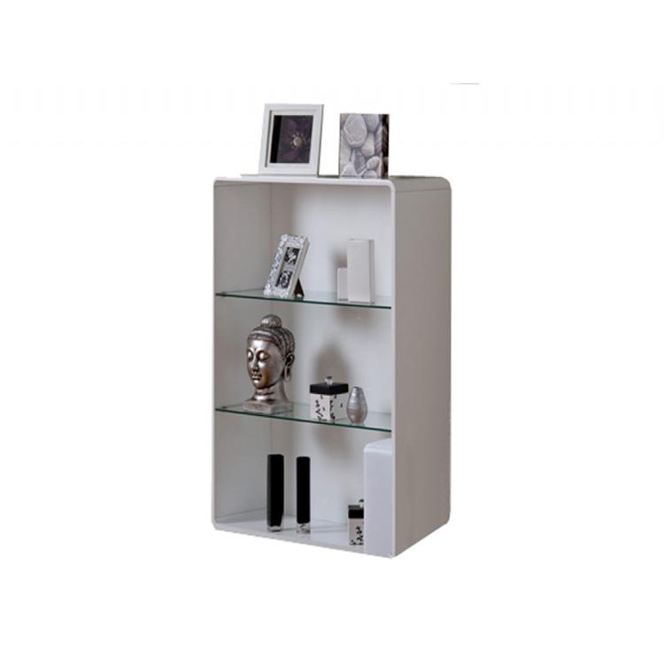 Toscana White Gloss Bookcase