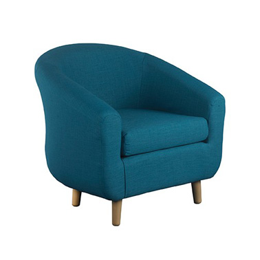Turin Tub Chair in Teal at FADS.co.uk
