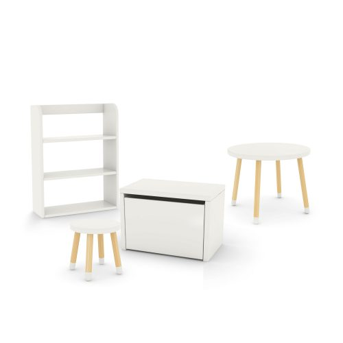 flexa-bundle-table-stool-white