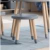 flexa play stool light blue lifestyle