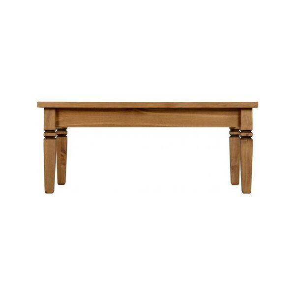 iKingston Pine Tile Top Coffee Table Side