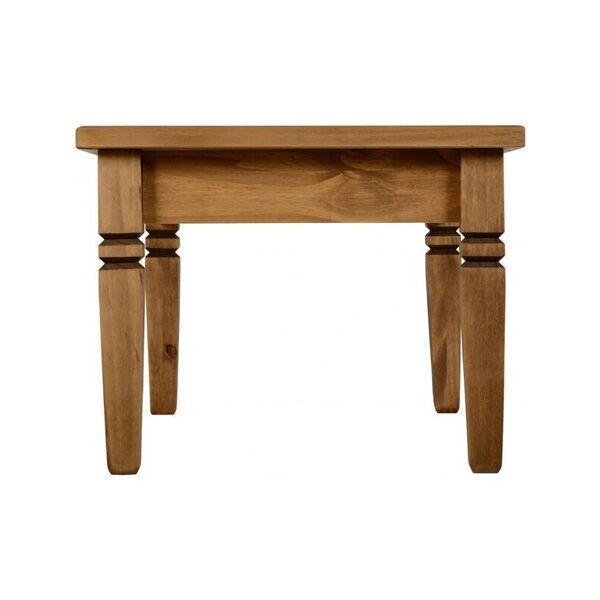 iKingston Pine Tile Top Coffee Table End