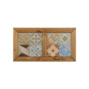 iKingston Pine Tile Top Coffee Table Top