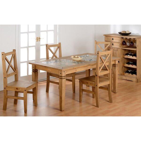 Kingston Tile Top Dining Table Set 1