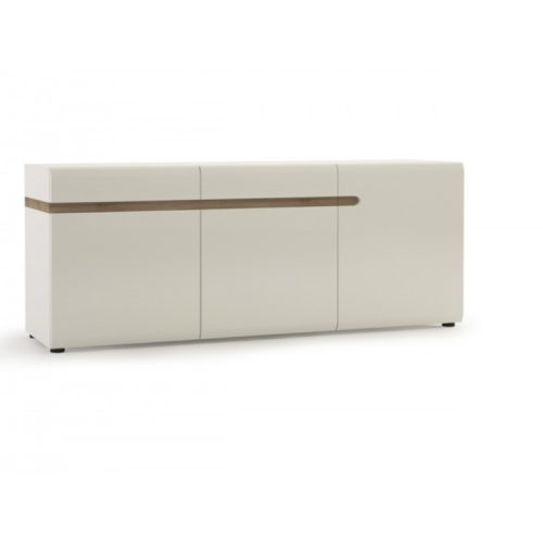 mode-sideboard-thre-door-2-drawer-white-gloss-and-oak