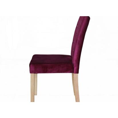 Paris Purple Velvet Dining Chair
