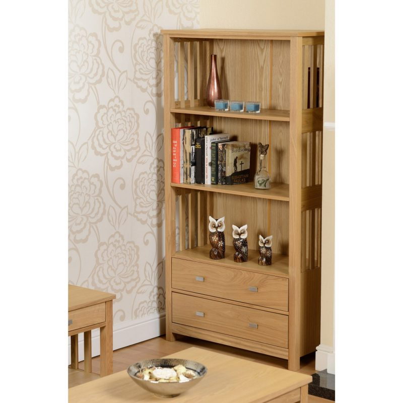 ashmore 2 drawer bookcase