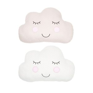 Cloud Nursery Cushion Beige