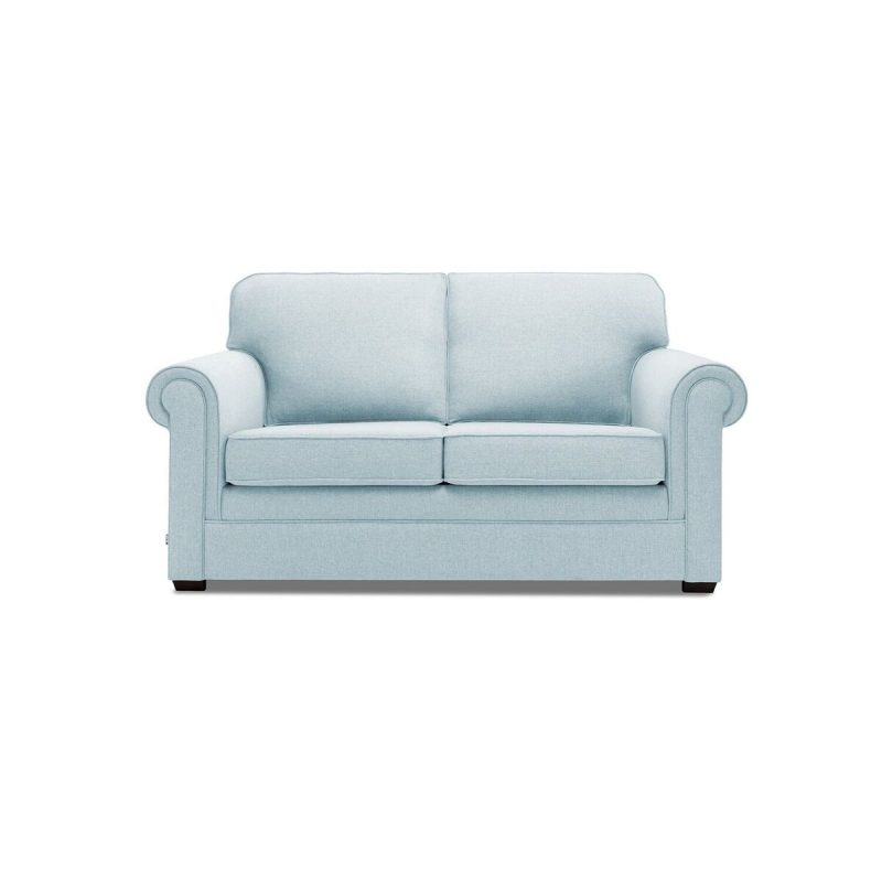 Classic 2 Seater Sofa Duck Egg Front