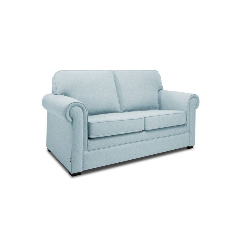 Classic 2 Seater Sofa Duck Egg Angle