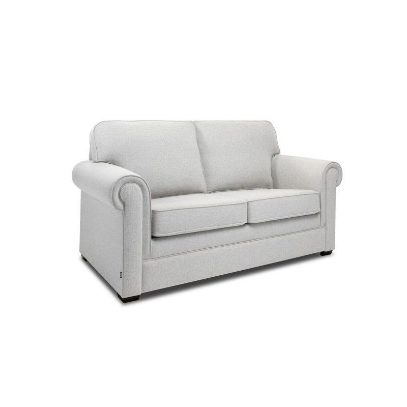 Classic 2 Seater Sofa Stone Angle