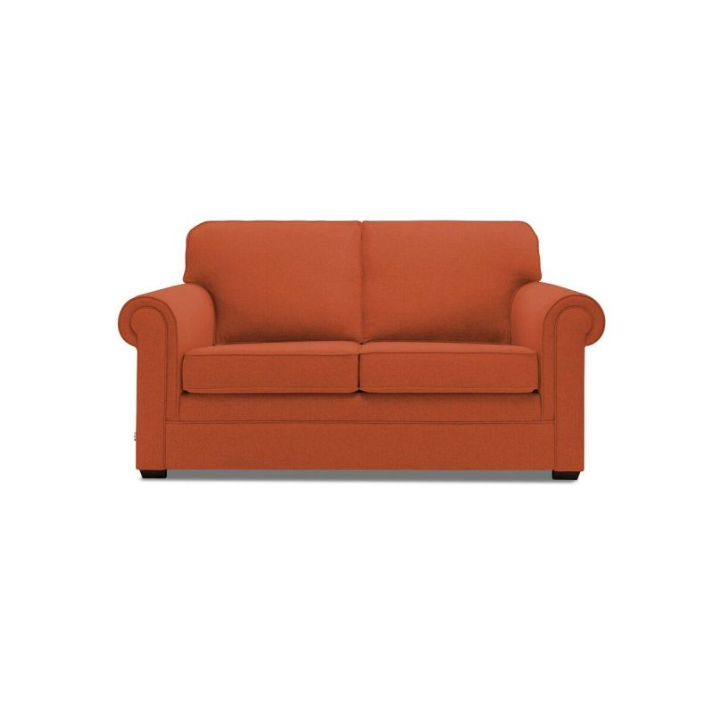 Classic 2 Seater Sofa Terracotta Front