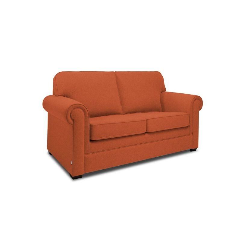 Classic 2 Seater Sofa Terracotta Angle