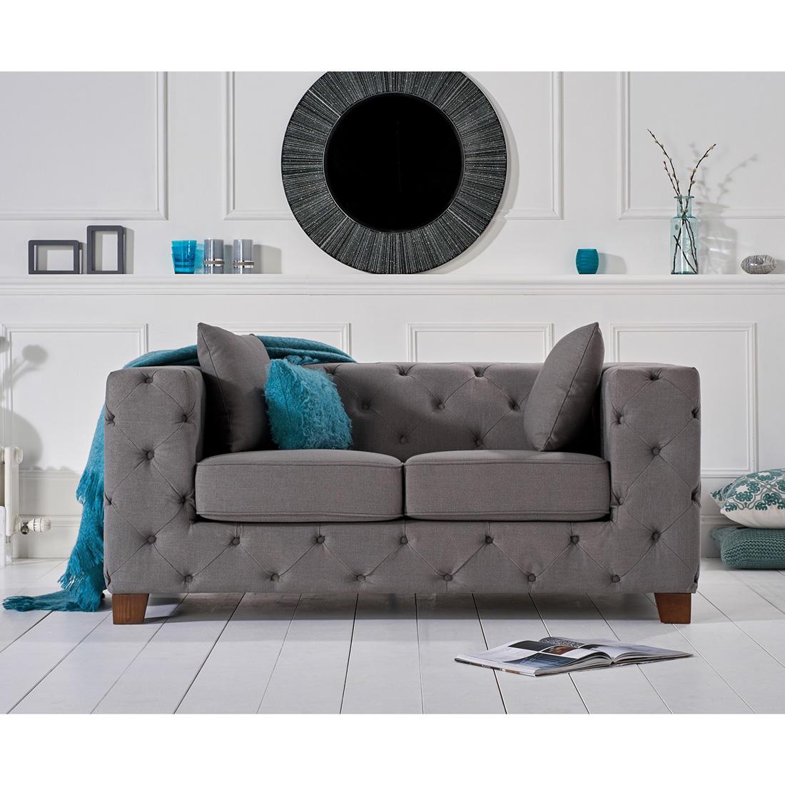 Fordham-dark-grey-fabric-two-seater-lifestyle-shot