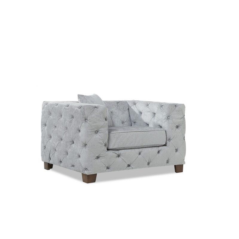 Fordham-grey-plush-armchair-corner-view