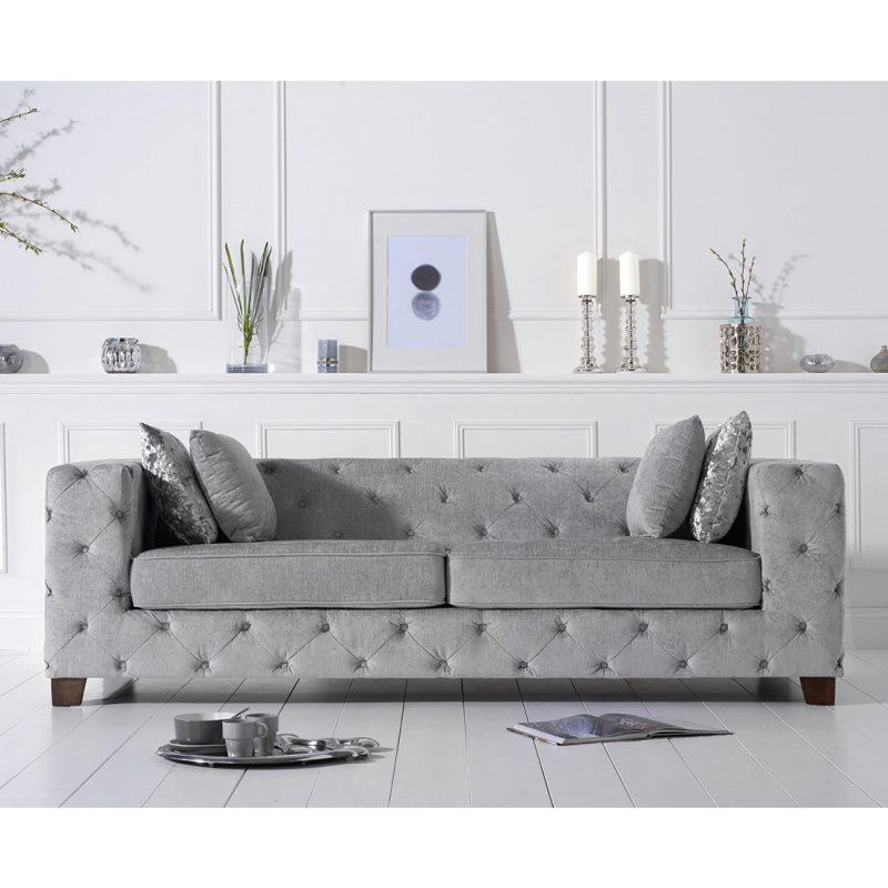 Fordham grey fabric sofa
