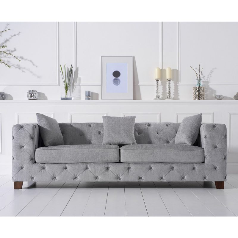 Fordham-grey-plush-three-seater-sofa