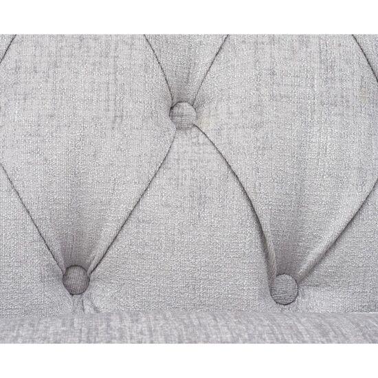 Juliette Grey Fabric 3 Seater Sofa Detail