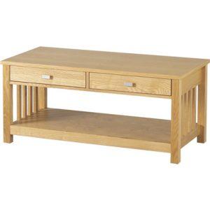 large ashmore 2 drawer coffee table