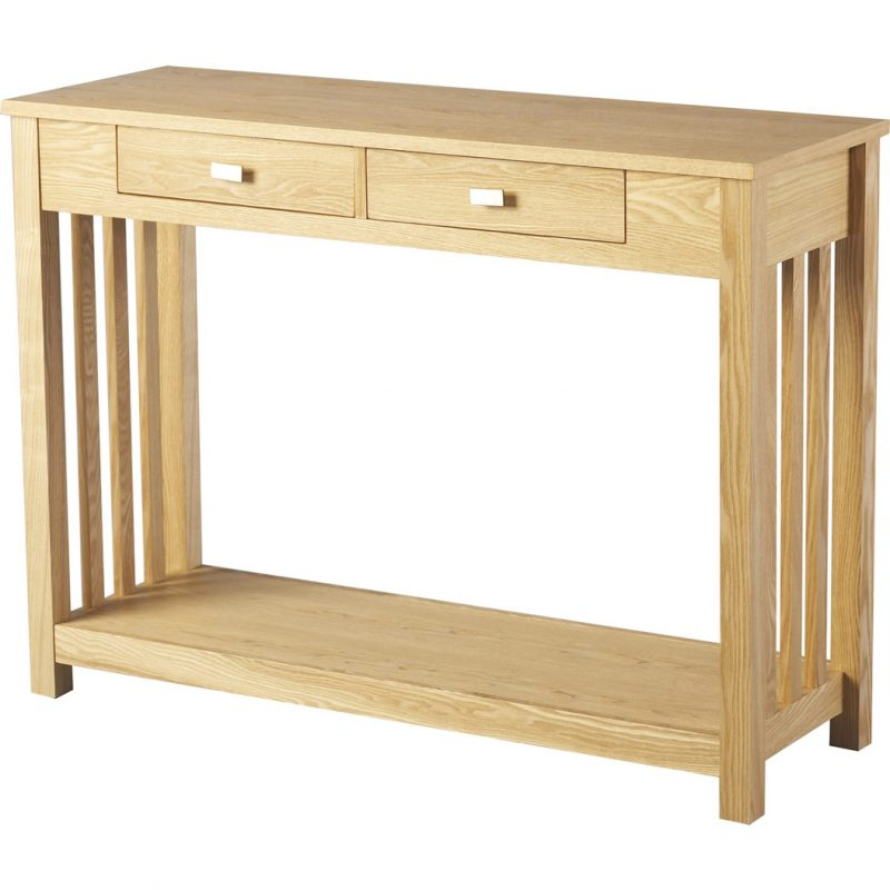 ashmore 2 drawer console table,