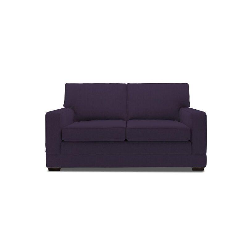 Modern Sofa Aubergine