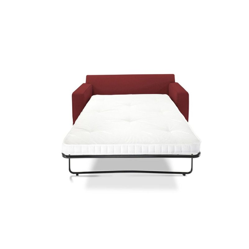Modern Sofa Bed Cranberry Front