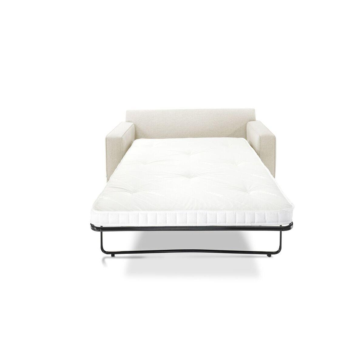 Modern Sofa Bed Cream Front