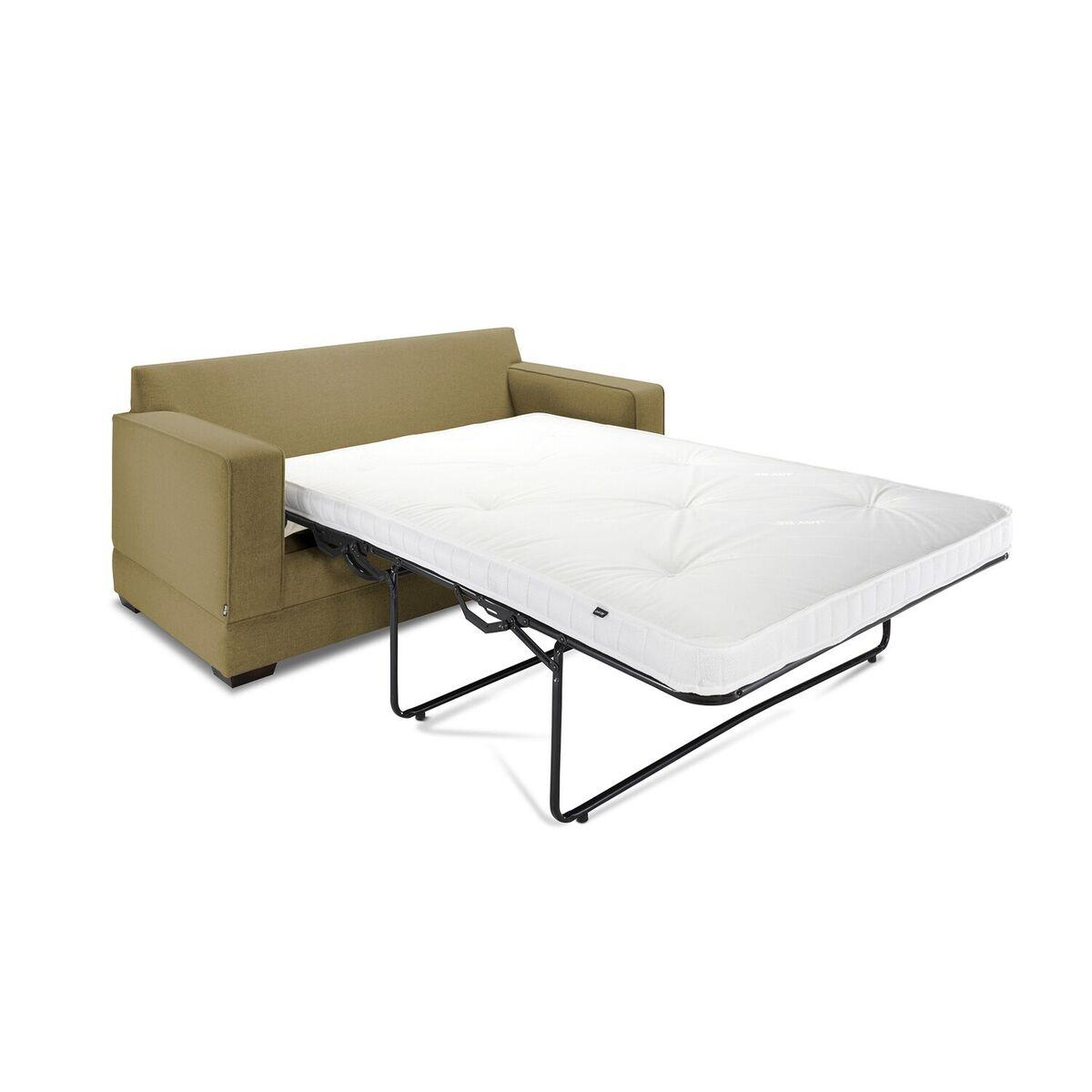 Modern Sofa Bed Angle Olive