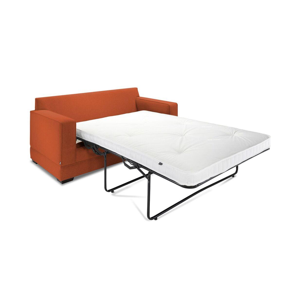 Modern Sofa Bed Angle Terracotta