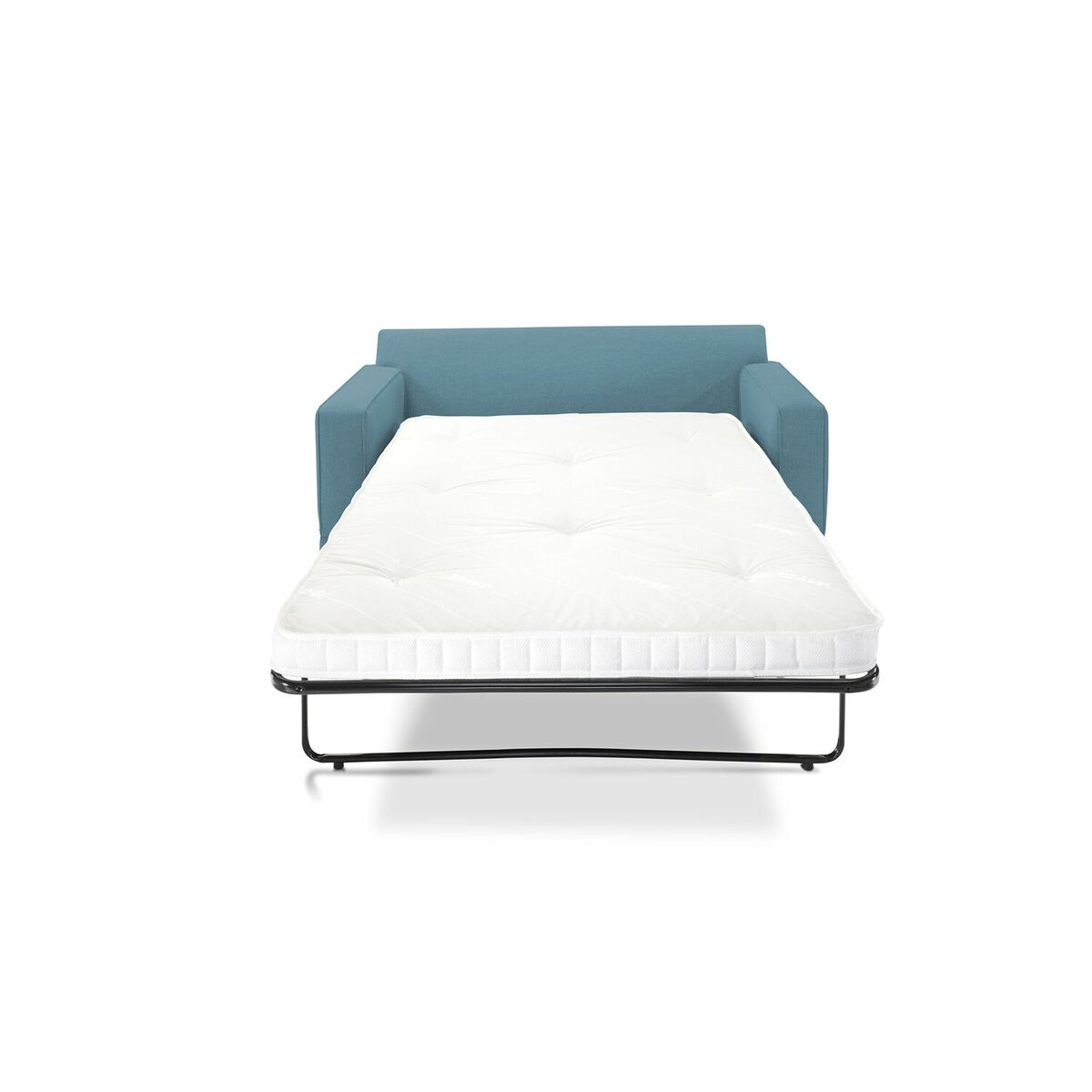 Modern Sofa Bed Teal Front