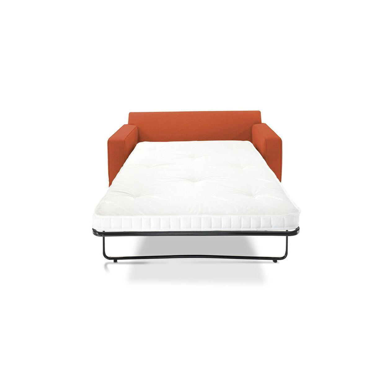 Modern Sofa Bed Terracotta Front