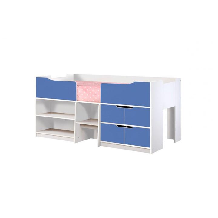 Paddington-cabin-bed-blue-and-white-corner-detail