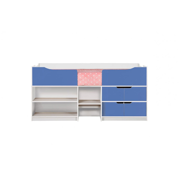 Paddington-cabin-bed-blue-and-white-front-on