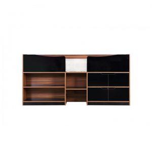 Paddington-cabin-bed-walnut-and-black-front-on