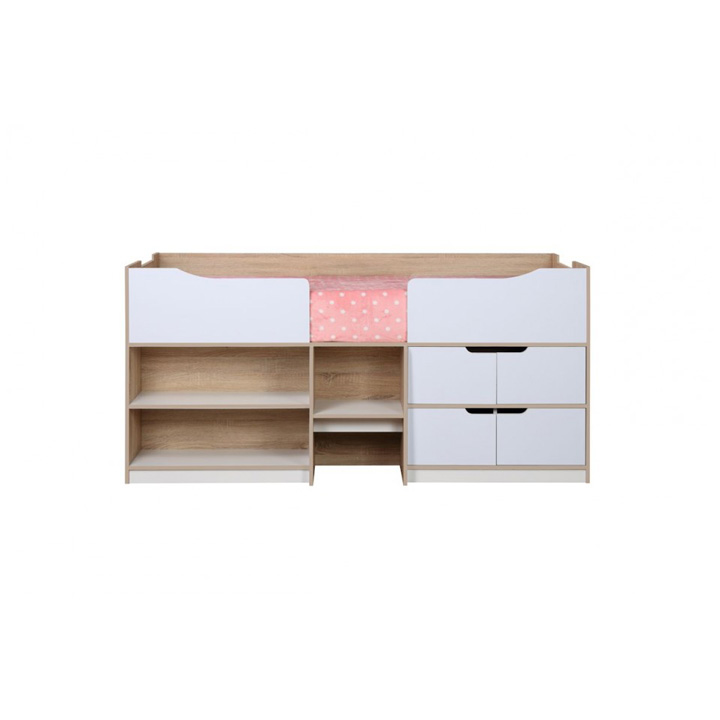 Paddington-cabin-bed-white-and-oak-front-on