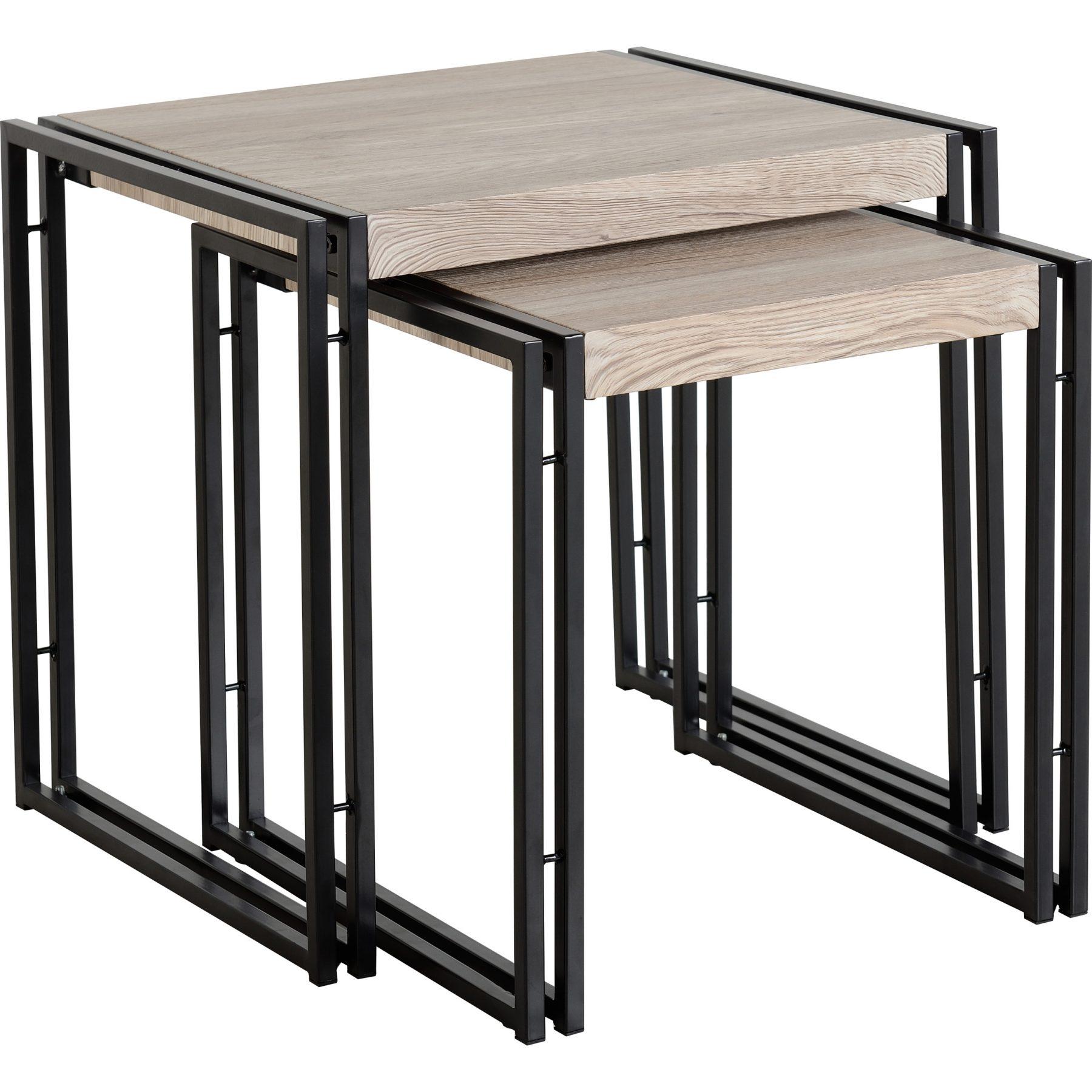 Warwick Oak Effect Nest Of Tables