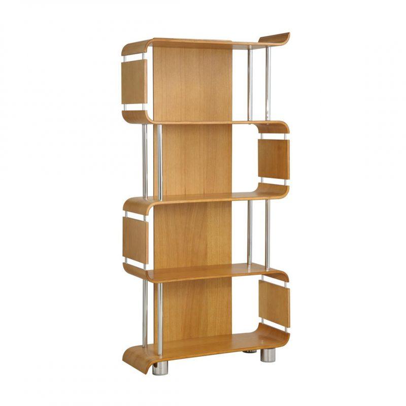 bali oak bookcase