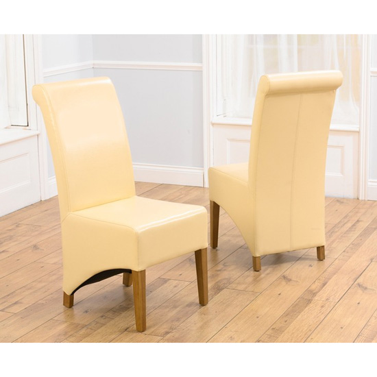 Bromley_cream_faux leather dining chairs_-_pt29798