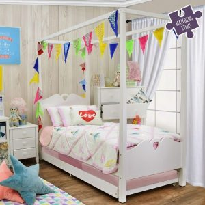 Holly Children's Four Poster Single Bed