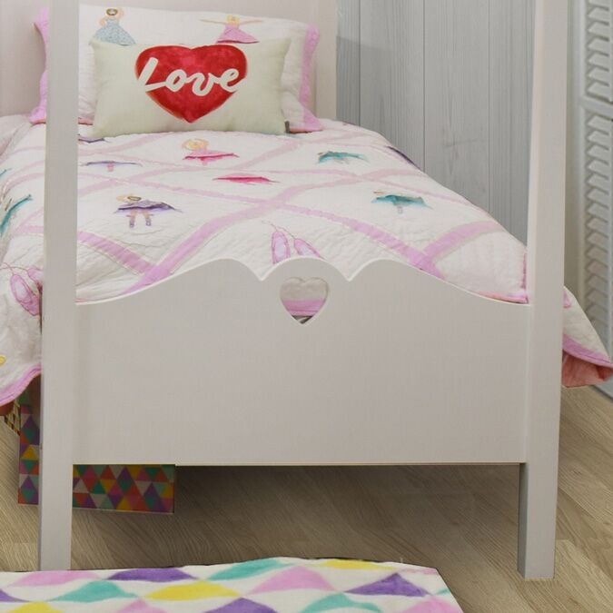 Holly Children's Four Poster Single Bed 1
