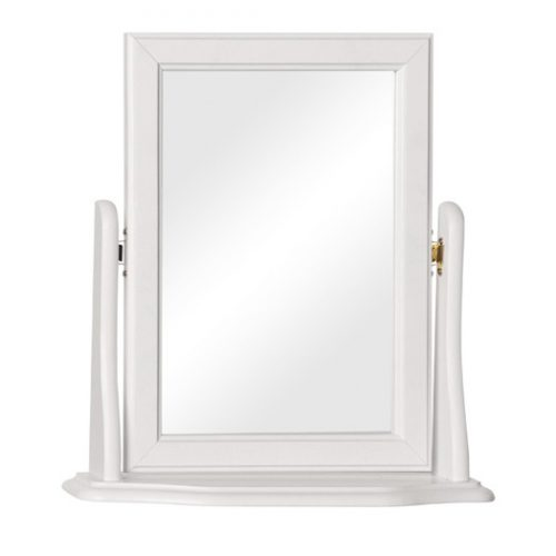 Copenhagen dressing table mirror white