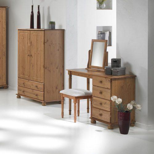 copenhagen-single-dressing-table-pine-bedroom-set