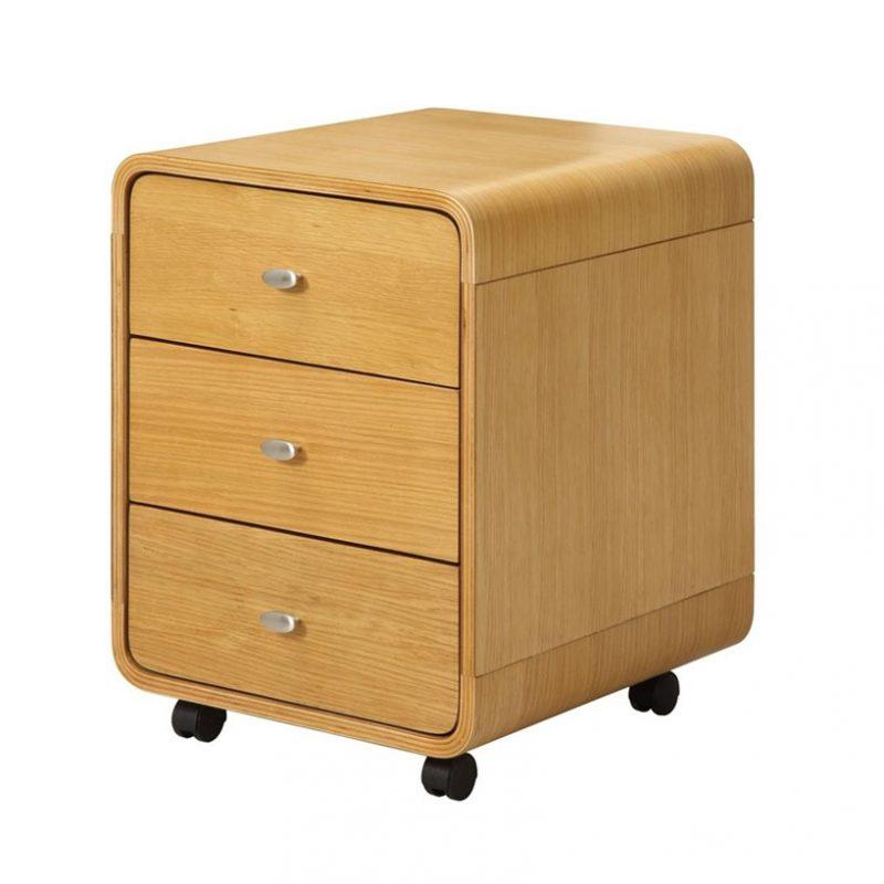 curve-3-drawer-pedestal-oak