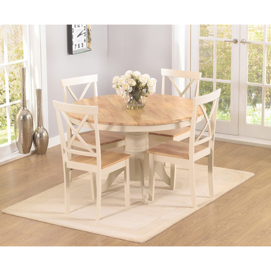 Ashley Round Dining Table with 4 Chairs