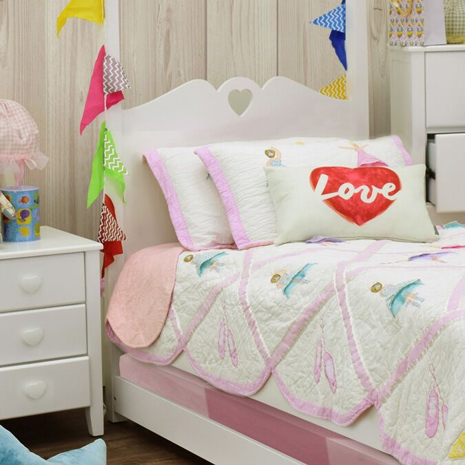 Holly Children's Four Poster Single Bed Headend