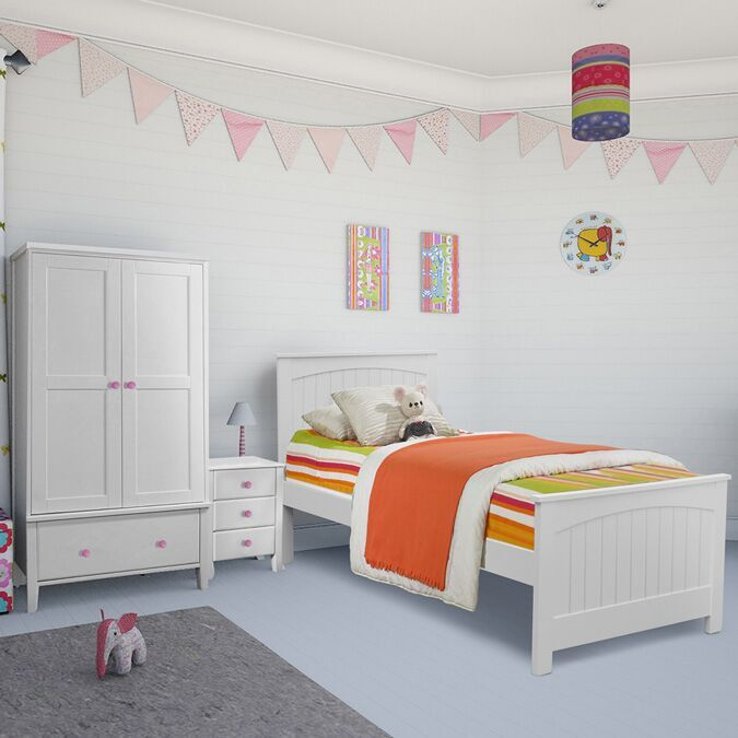 Willow Kids White Single Bed Frame Children S Beds Fads