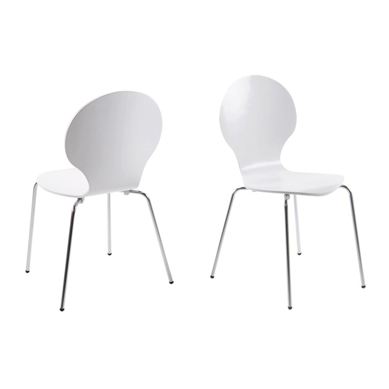 Hugo Molded Ply Dining Chair Set Of 4 6 8 Fads