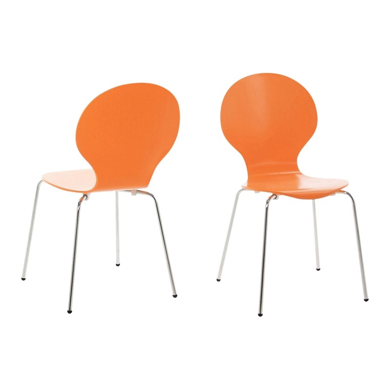 Hugo Molded Ply Dining Chair Set 4 6 8