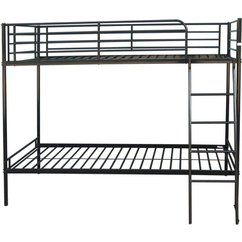 Brando bunk bed frame black