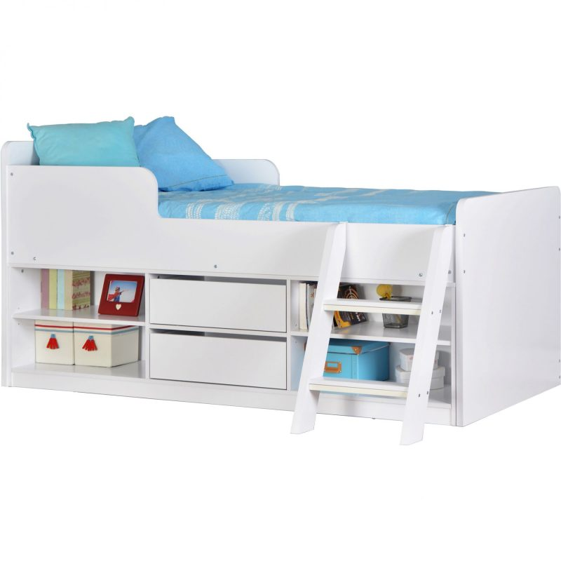 Felix low sleeper bed white 1